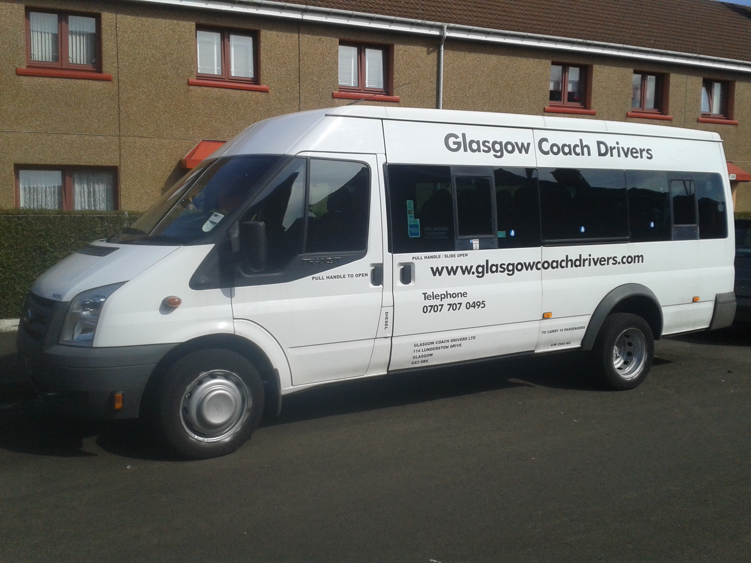 8 SEATER COACH HIRE